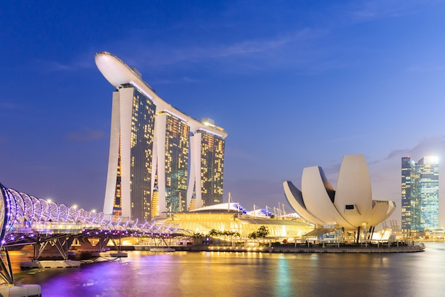 It is an integrated resort and the world's most expensive standalone casino property at S$8 billion.